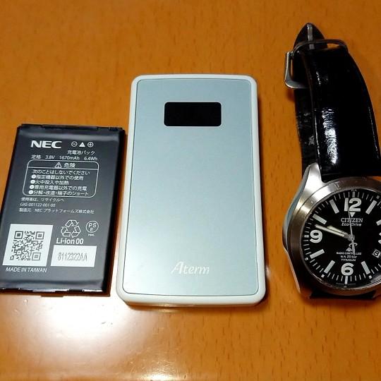 モバイルルーター Aterm MP01LN を購入しました